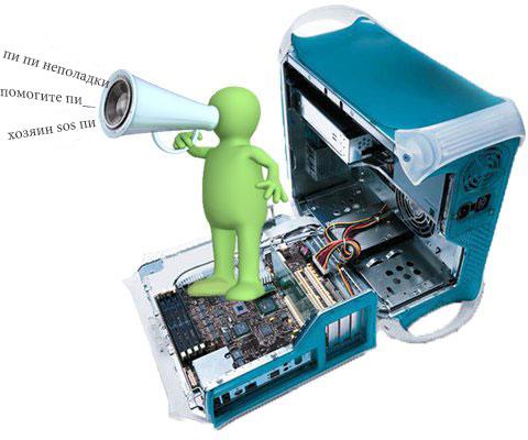 Писк компьютера